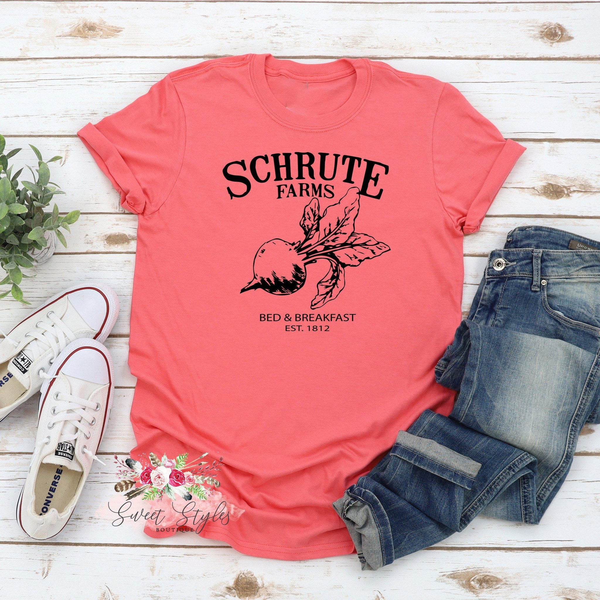The office Schrute farms T-shirt-Sweet Styles boutique
