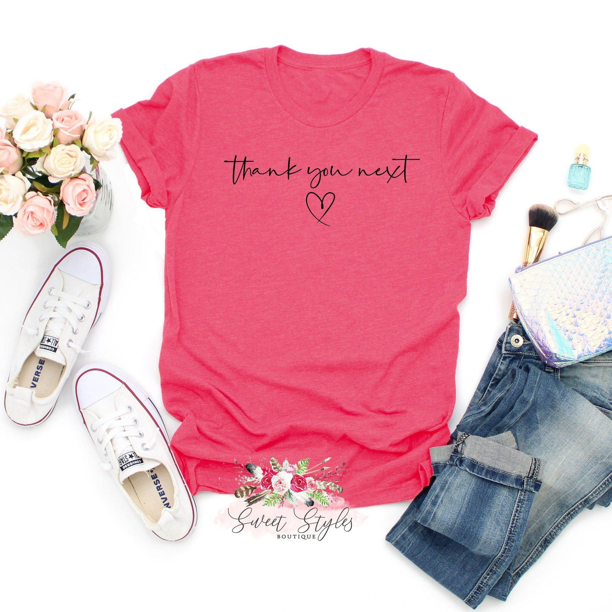 Thank you next lyric T-shirt-Sweet Styles boutique