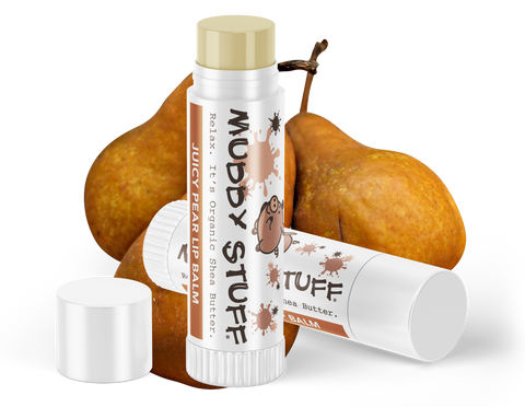 Muddy Stuff Organic Lip Balm: .15oz Juicy Pear