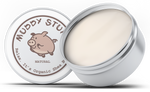 Muddy Stuff Organic Shea Butter: 8oz. Natural Unscented