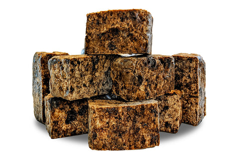Muddy Stuff Raw African Black Soap: 4oz.