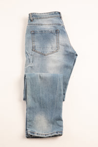 Pantalone in Denim 5 tasche Regular Fit