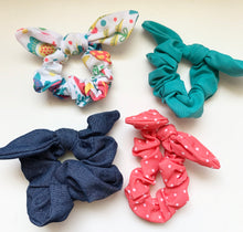 Load image into Gallery viewer, Bunny Ear Scrunchies