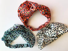 Load image into Gallery viewer, Bright Cheetah Headbands