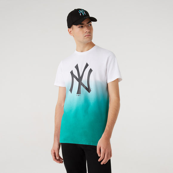 NEW YORK YANKEES COLOUR PACK TEAL T-SHIRT 12720161