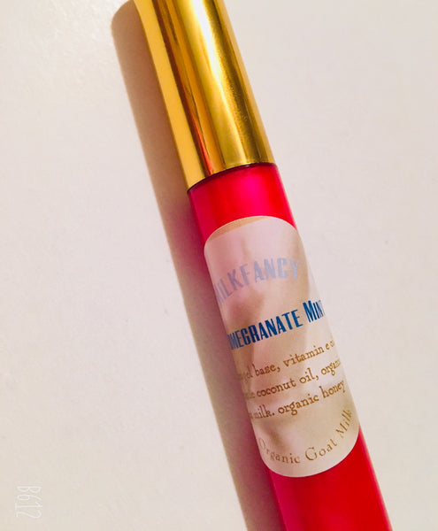 Pomegranate Mint lip gloss & cheek /freeship