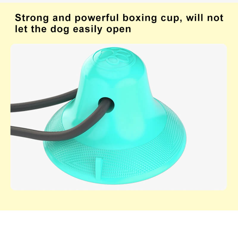 Dog Molar Bite Suction Cup Tug Toy