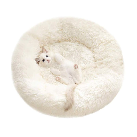 comfy fur bed for pet