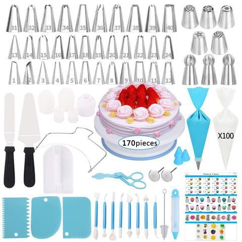 CAKE DECORATING SET 170 PCS/SET