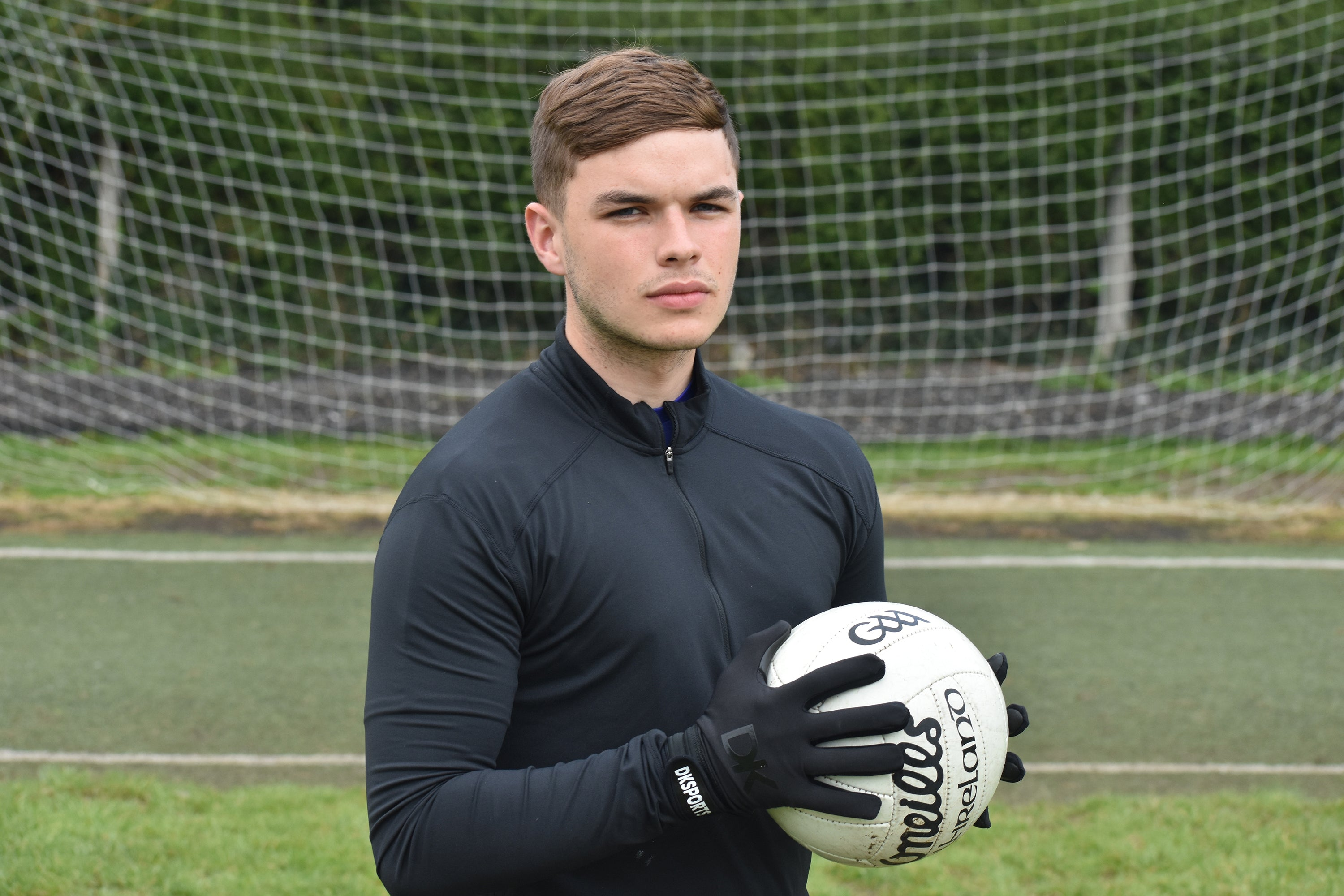 The man behind the gloves - Daragh Kelly