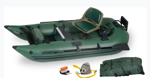Sea Eagle 285 Frameless Pontoon Boat Pro Package