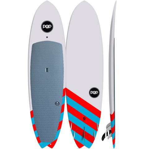 Pop Paddle Co. - 9'6″ Saltwater Beaver –  Stand Up Paddle Board