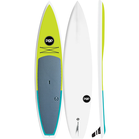 Pop Paddle Co. - 11'6″ Amigo Turbo – Green Stand Up Paddle Board