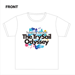 TrySail Live Tour 2019 The TrySail Odyssey ツアーTシャツA
