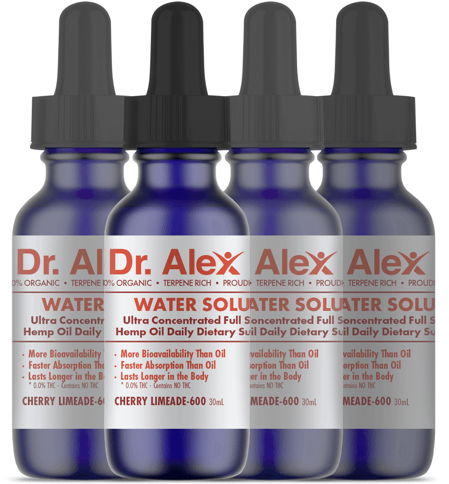 Dr. Alex Quantum 600 Oil (Buy 3 get 1 free)