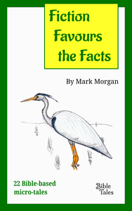 "Book cover: ""Fiction Favours the Facts"" by Mark Morgan"