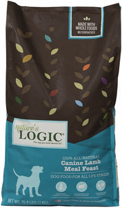Nature's Logic Canine Lamb Meal Feast Dry Dog Food