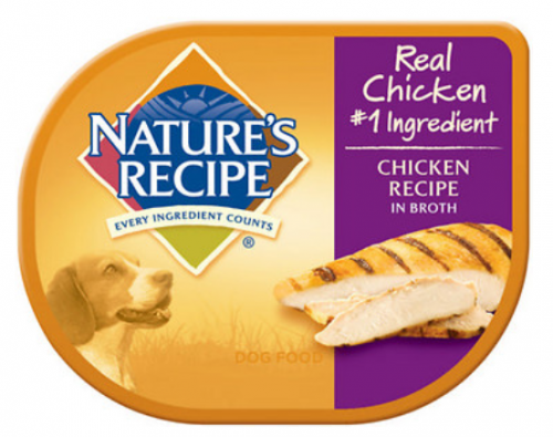 Nature's Recipe Chicken Recipe in Broth Wet Dog Food