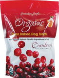 Grandma Lucy's Organic Oven Baked Cranberry Flavor Dog Treats
