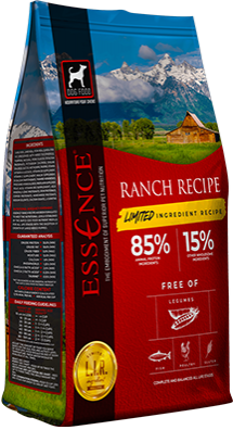 Essence Limited Ingredient Ranch Recipe Dry Dog Food