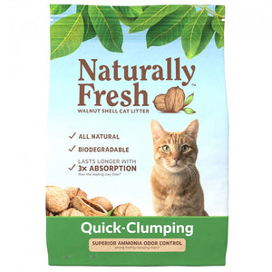 Naturally Fresh Walnut Based Quick Clumping Cat Litter