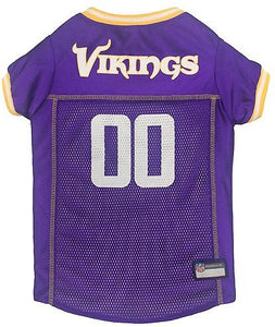 Pets First NFL Minnesota Vikings Mesh Pet Jersey
