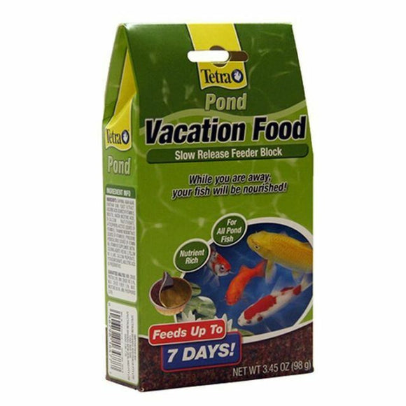 Tetra Pond Vacation Food Slow Release Feeder Block Fish Food