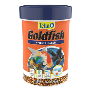 Tetra Fin Floating Variety Pellets Goldfish Food