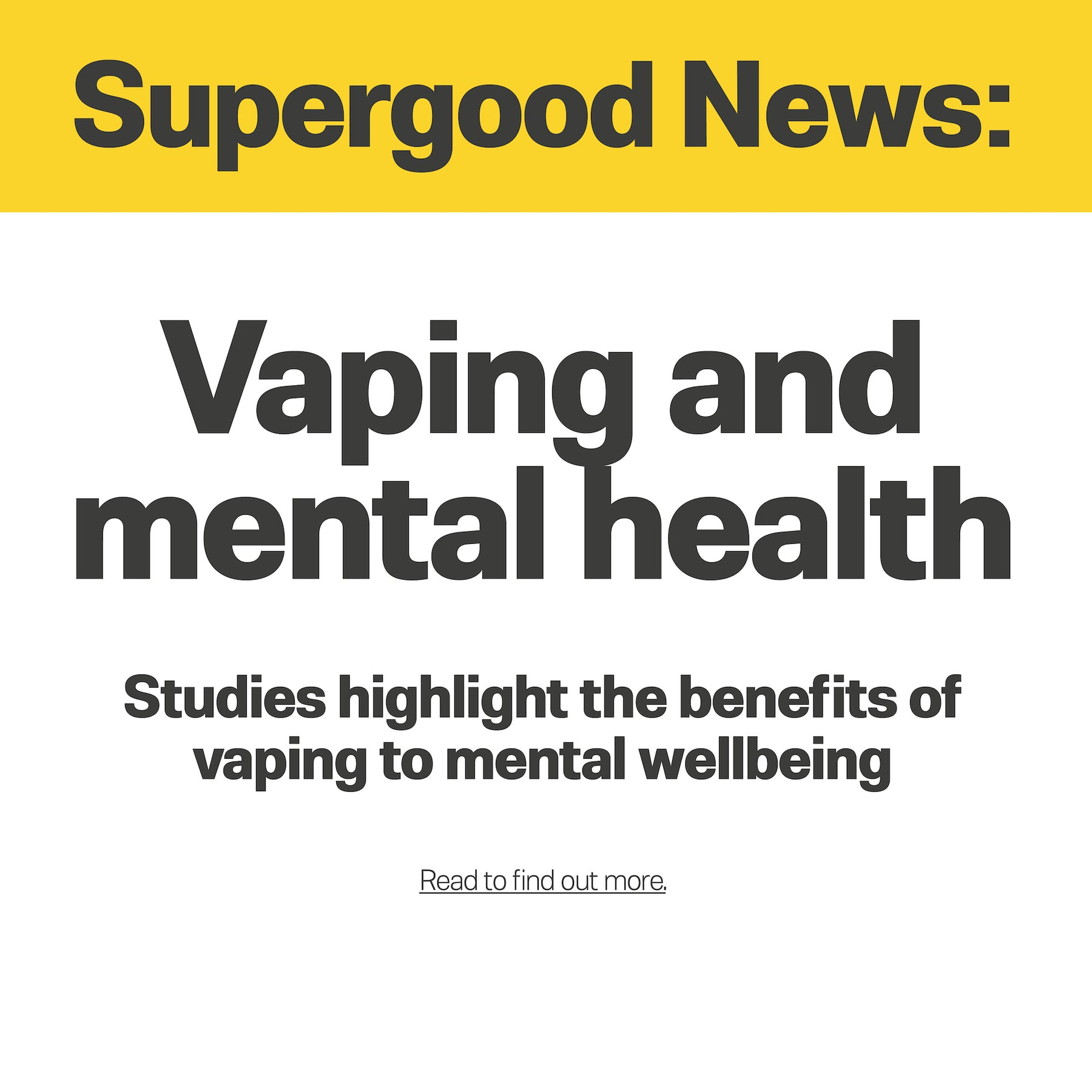 Vaping and Mental Health
