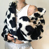 Cow Printed Jacket