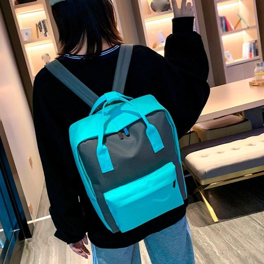 Women's Square Style Backpack - VioletMosh