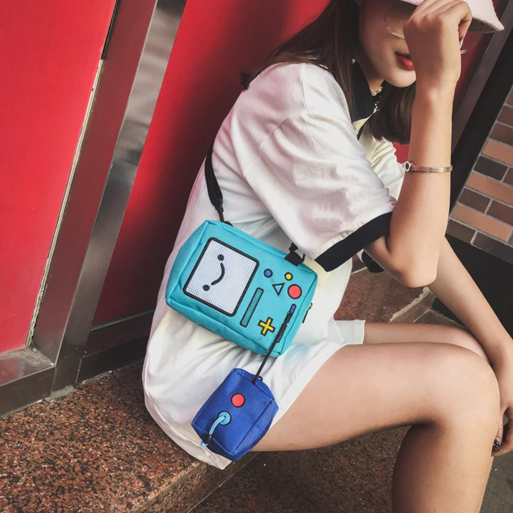 Cartoon Adventure Time Shoulder Bag