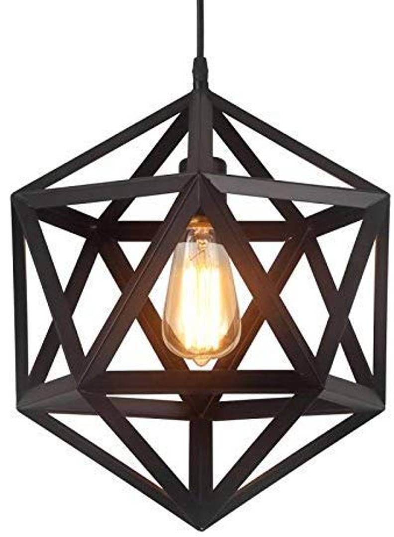 Diamond Ceiling Hanging Light for Home 3 Pcs (Bulbs Not Included)