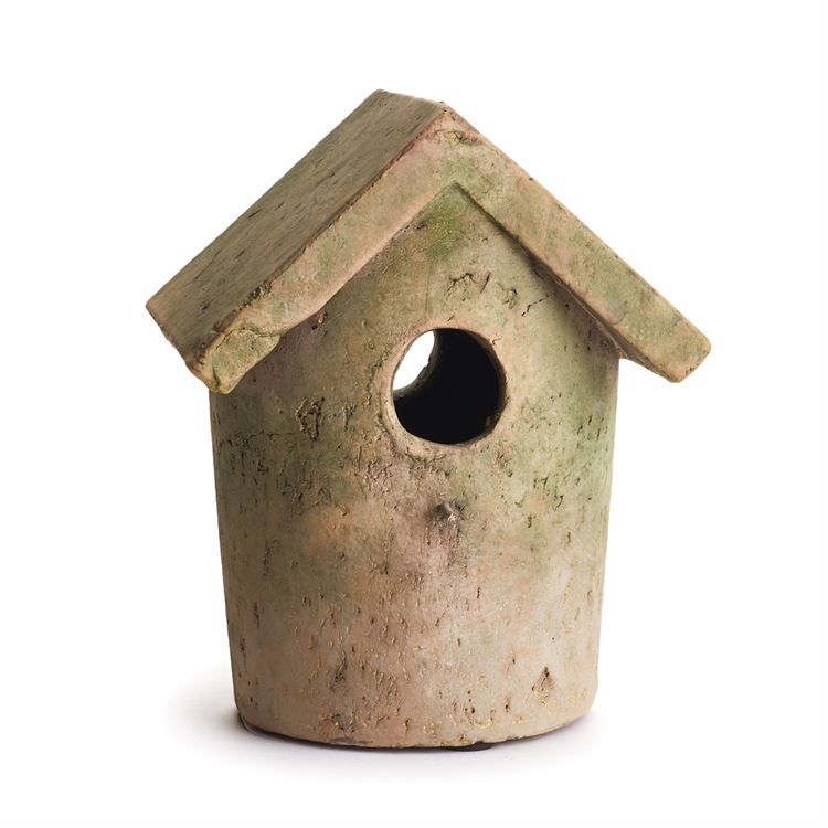 Weathered Garden Bird House