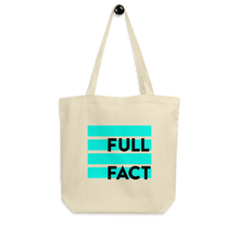 Load image into Gallery viewer, Full Fact tote bag
