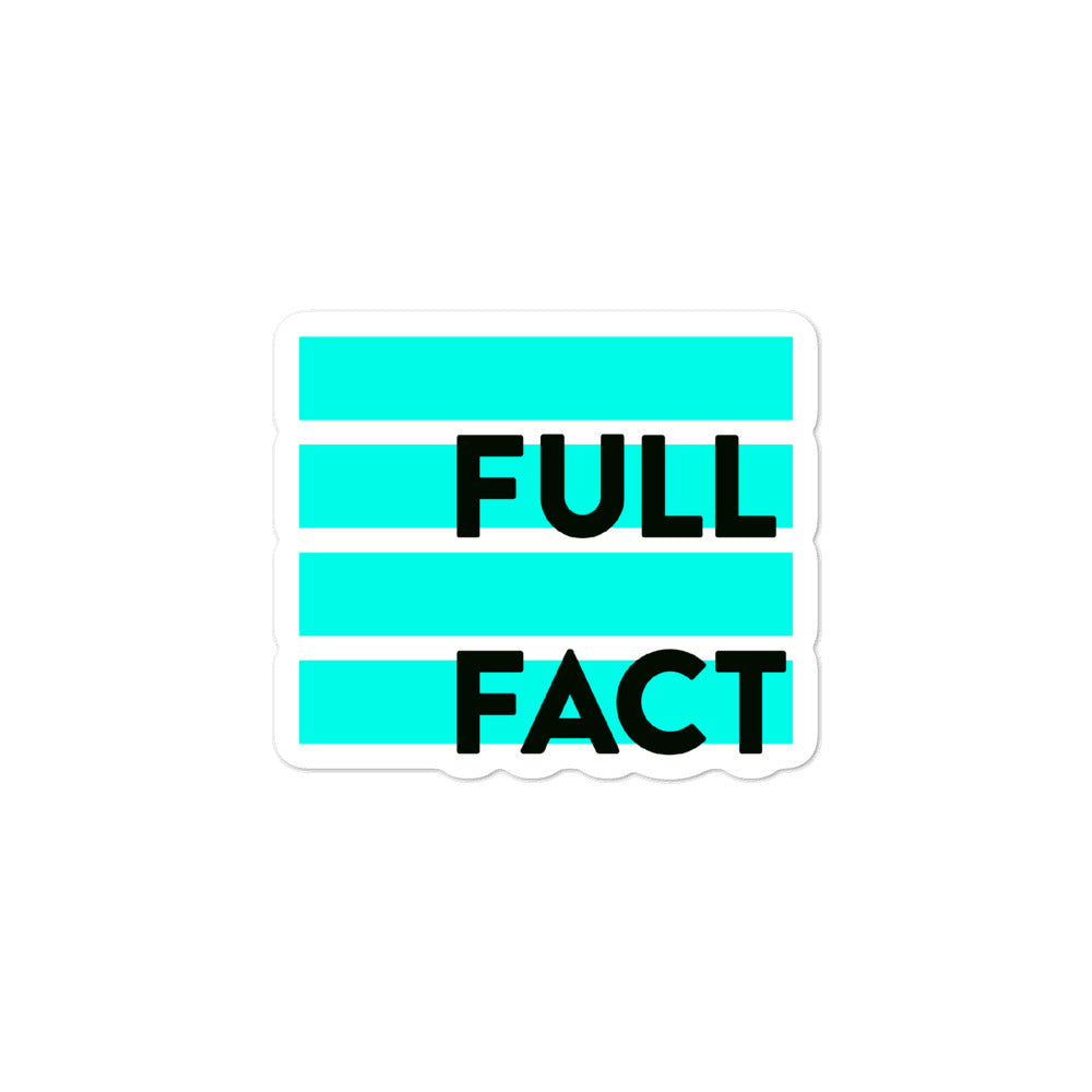 Full Fact sticker