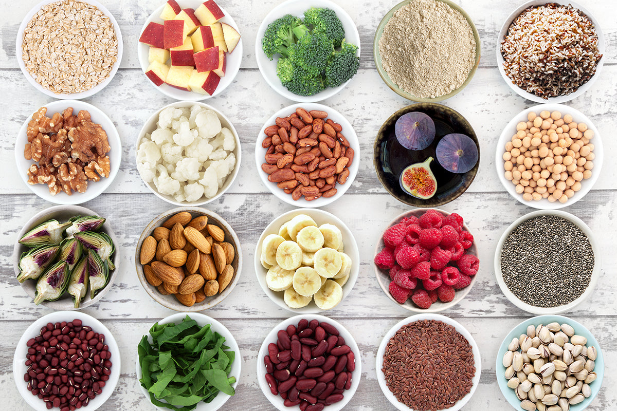 What is fiber and why is it essential for a healthy diet?