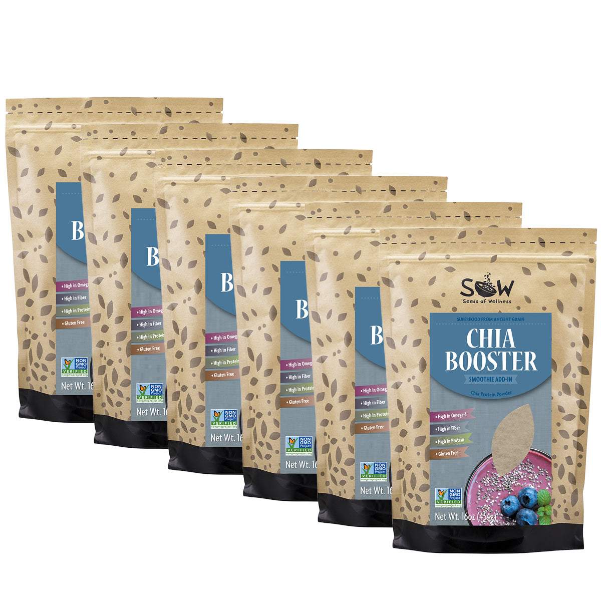CHIA BOOSTER 6-PACK, GET 6 PAY 5