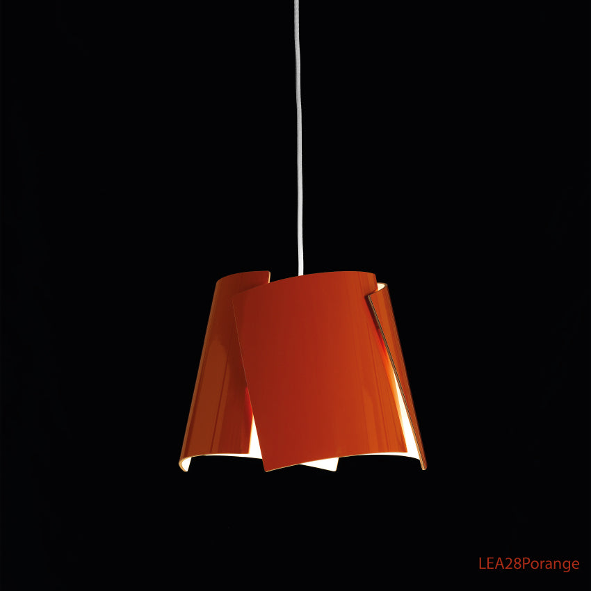 Leaf taklampa 28 orange