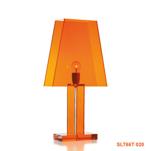 Siluett 66 bordslampa - orange klar