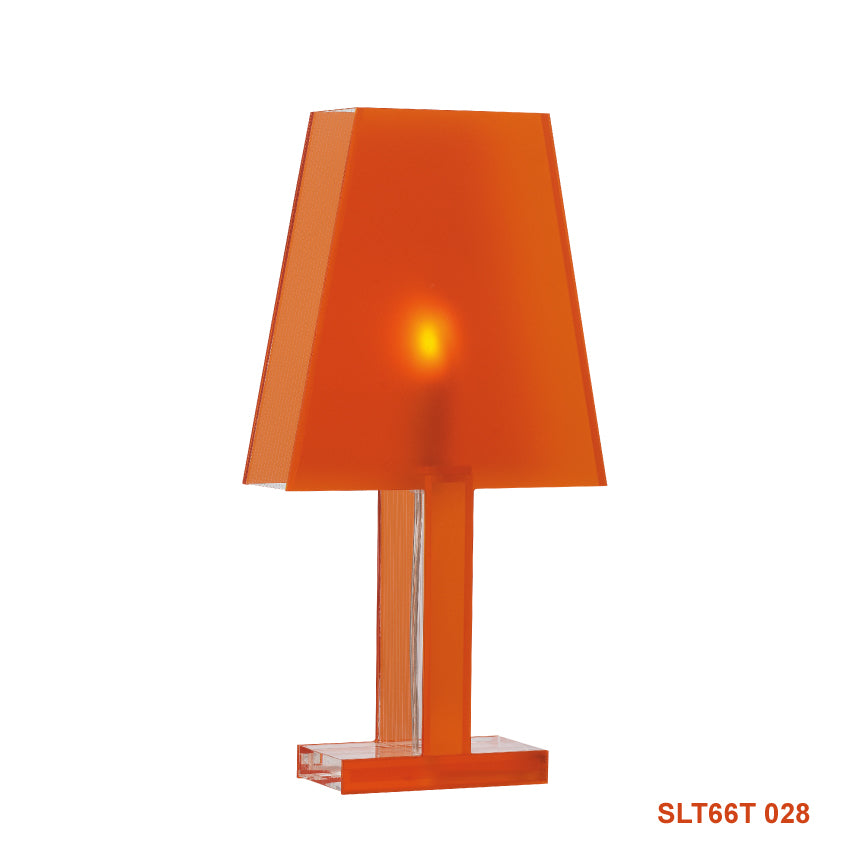 Siluett 66 bordslampa - orange frost