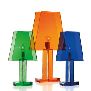Siluett 66 bordslampa x3 grön-orange-blå