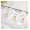 Gold%20Heart%20Necklaces%20Letter%20Perfect%20Gifts