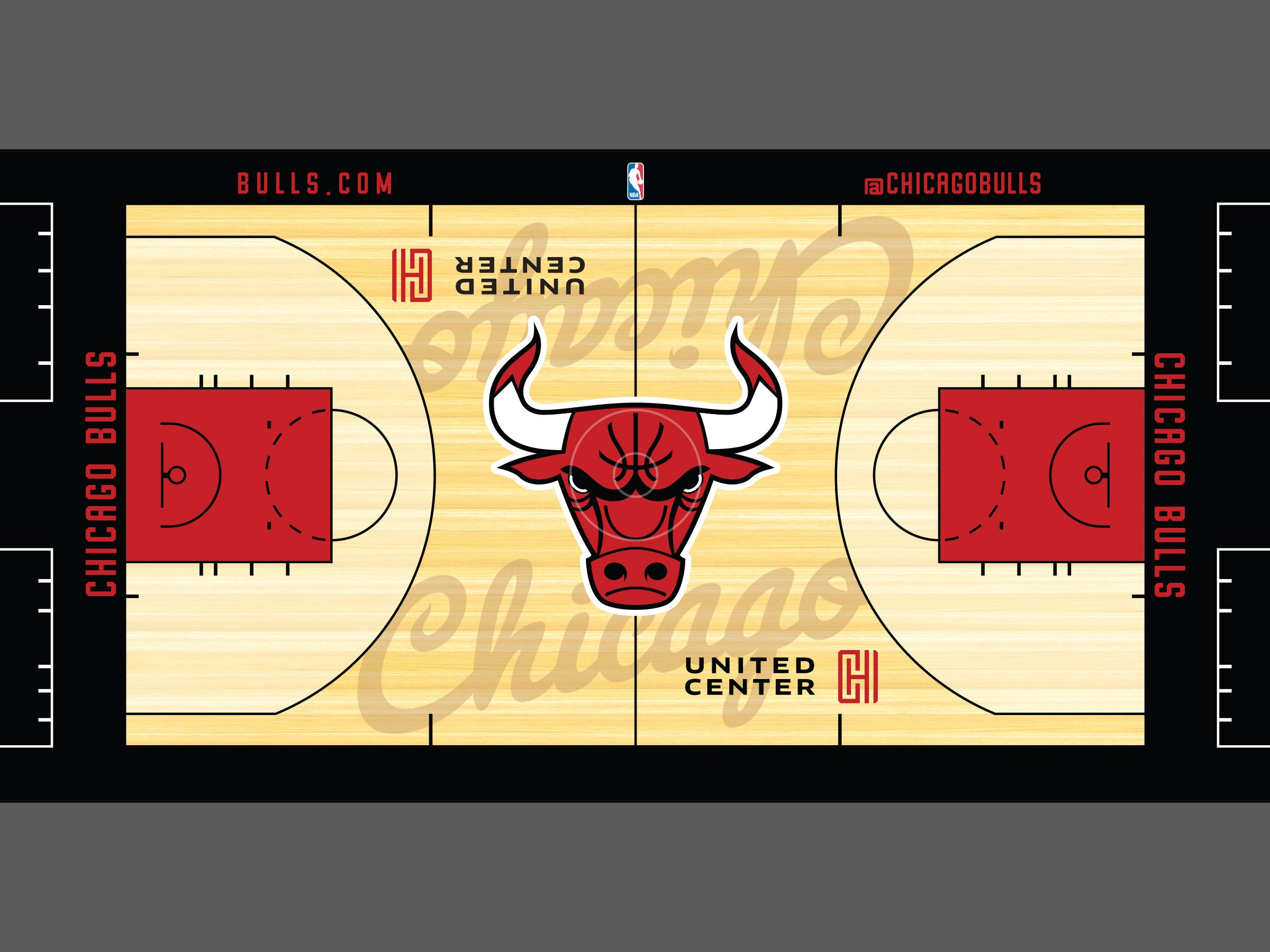 Chicago Bulls court rebrand
