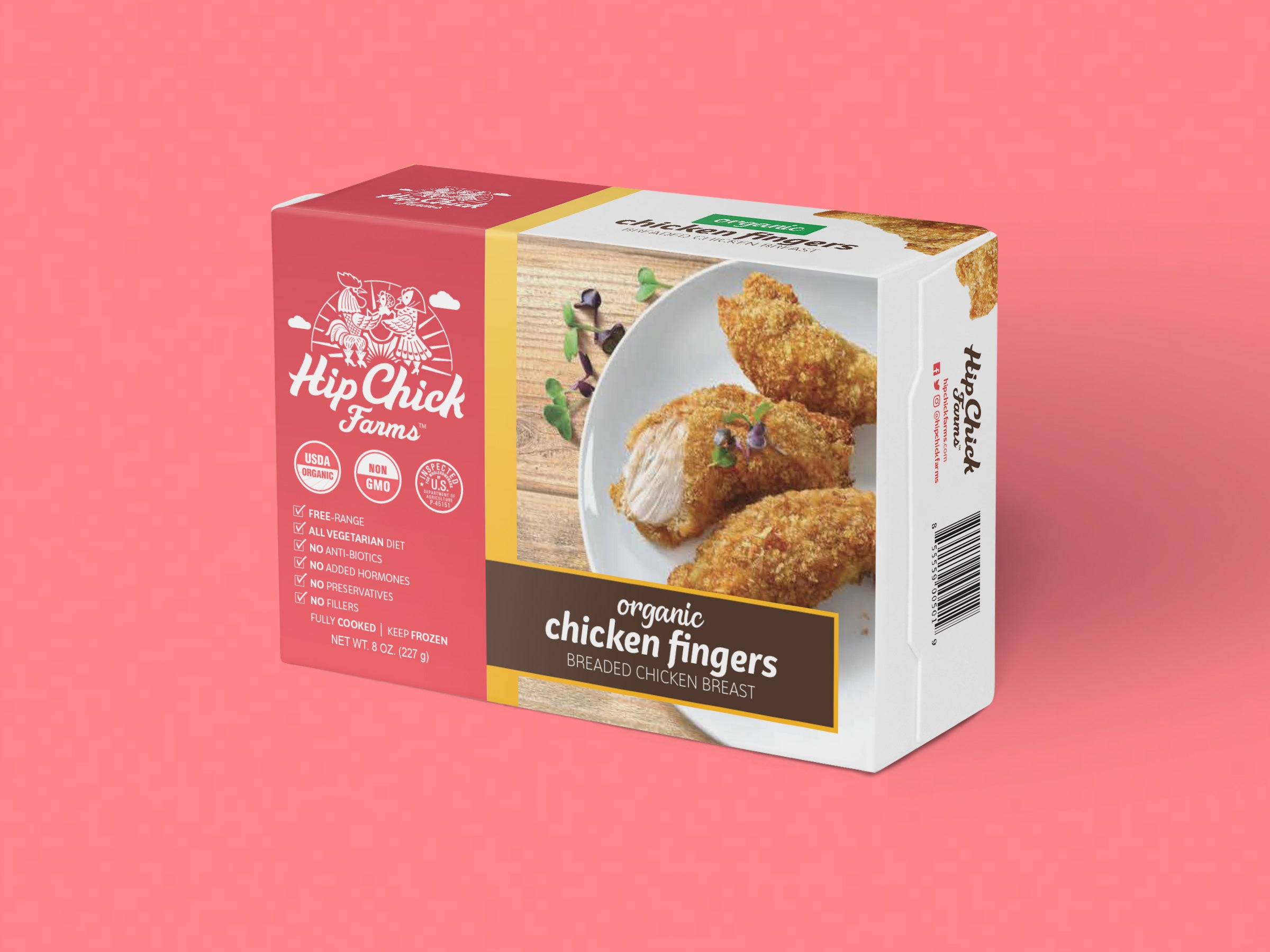 Hip Chick Farms packaging mock