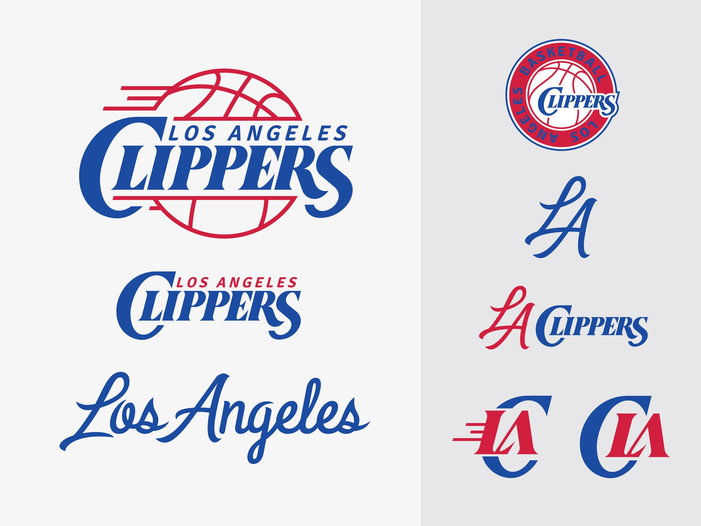 Los Angeles Clippers new logo rebrand