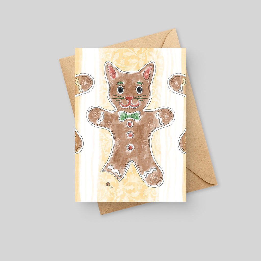 Gingerbread Cat