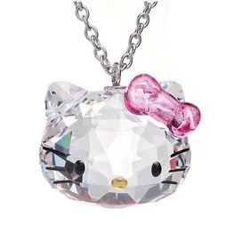 Collier Pendentif Hello Kitty Cristal - Enjouet