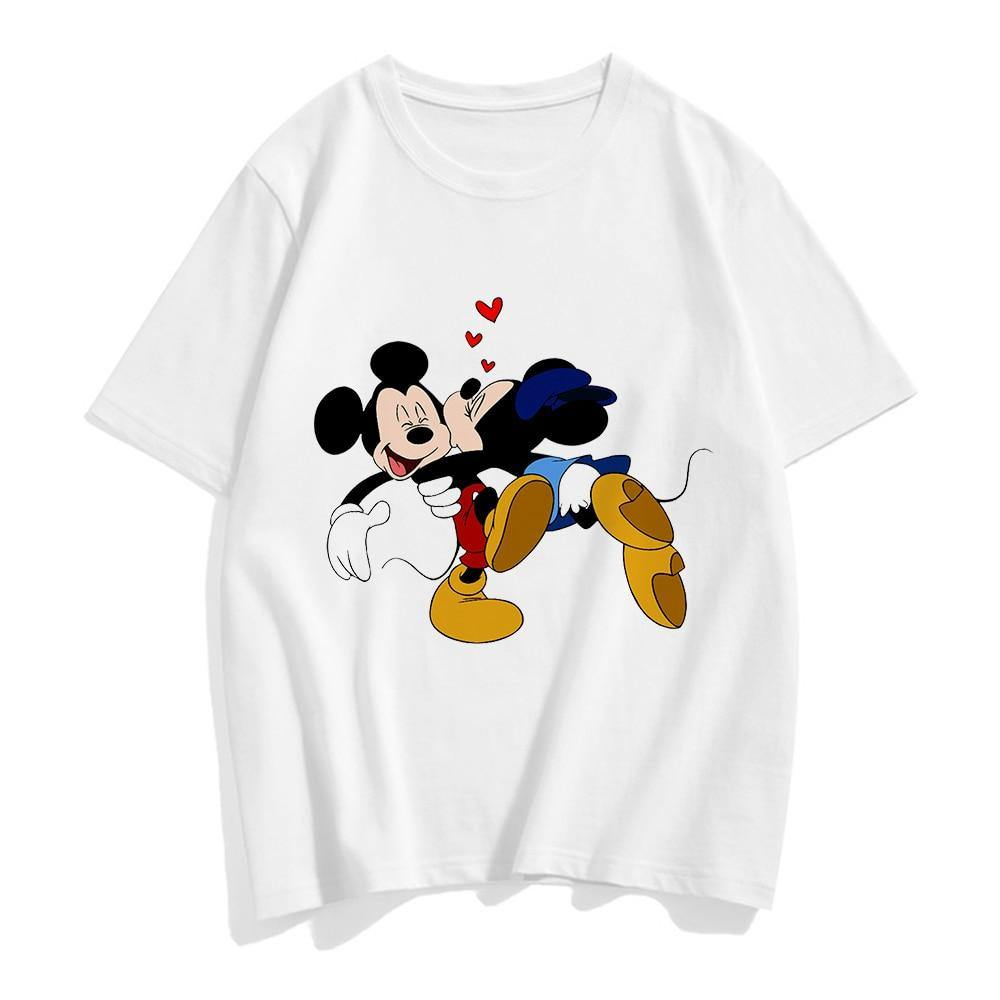 Tee shirt Minnie Mickey Bisous - Enjouet
