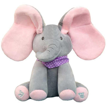 Musical Elephant Electric Plush